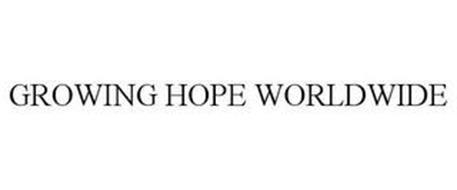GROWING HOPE WORLDWIDE