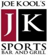 JK JOE KOOL'S SPORTS BAR AND GRILL