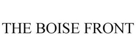 THE BOISE FRONT