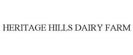 HERITAGE HILLS DAIRY FARM