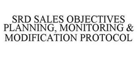 SDR SALES OBJECTIVES PLANNING, MONITORING & MODIFICATION PROTOCOL