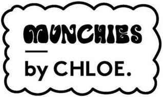 MUNCHIES BY CHLOE.
