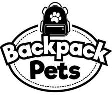 BACKPACK PETS