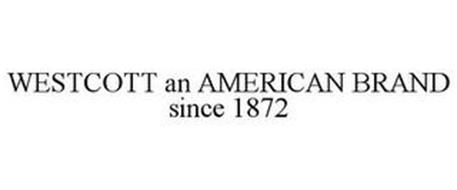 WESTCOTT AN AMERICAN BRAND SINCE 1872