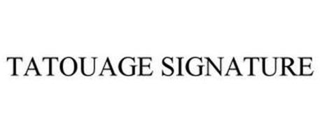 TATOUAGE SIGNATURE