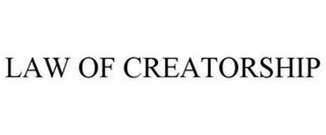 LAW OF CREATORSHIP