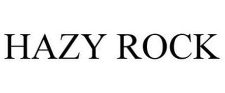 HAZY ROCK
