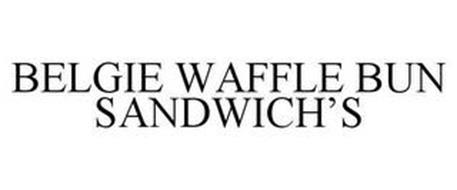 BELGIE WAFFLE BUN SANDWICH'S