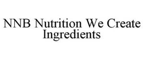 NNB NUTRITION WE CREATE INGREDIENTS