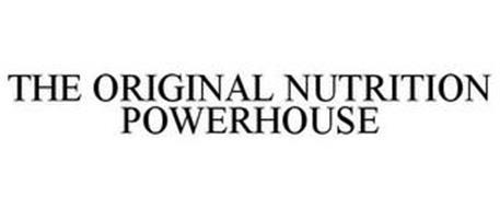 THE ORIGINAL NUTRITION POWERHOUSE