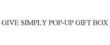 GIVE SIMPLY POP-UP GIFT BOX