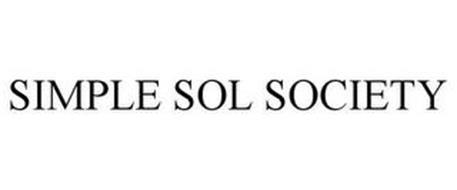 SIMPLE SOL SOCIETY