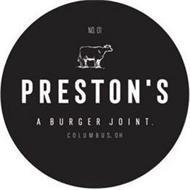 NO.1 PRESTON'S A BURGER JOINT COLUMBUS,OH