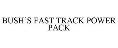 BUSH'S FAST TRACK POWER PACK