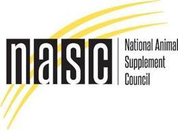 NASC NATIONAL ANIMAL SUPPLEMENT COUNCIL