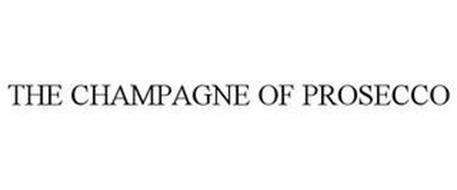 THE CHAMPAGNE OF PROSECCO