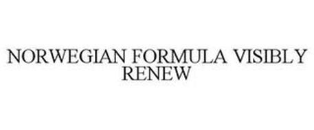 NORWEGIAN FORMULA VISIBLY RENEW