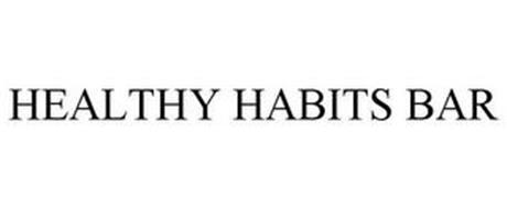 HEALTHY HABITS BAR
