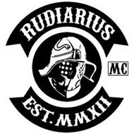 RUDIARIUS MC EST.MMXII