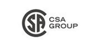 CSA CSA GROUP Trademark of CANADIAN STANDARDS ASSOCIATION Serial