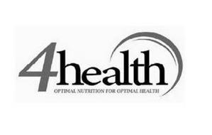 4HEALTH OPTIMAL NUTRITION FOR OPTIMAL HEALTH