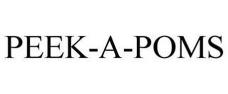 PEEK-A-POMS