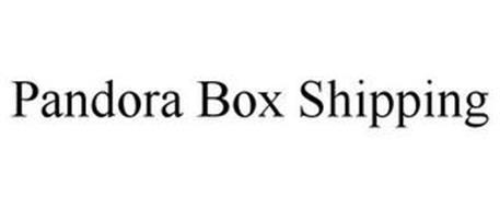 PANDORA BOX SHIPPING