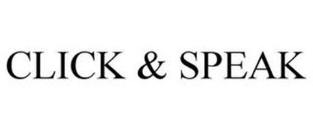 CLICK & SPEAK