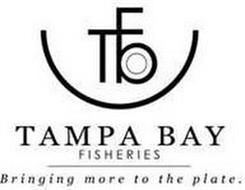 TBF TAMPA BAY FISHERIES BRINGING MORE TO THE PLATE.
