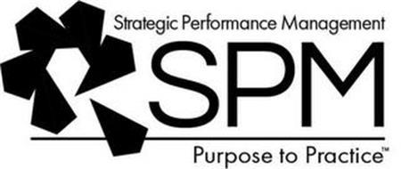 SPM STRATEGIC PERFORMANCE MANAGEMENT PURPOSE TO PRACTICE