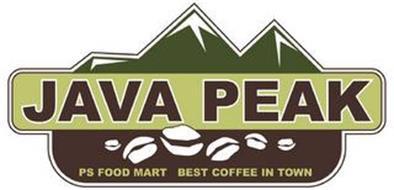 JAVA PEAK PS FOOD MART BEST COFFEE IN TOWN