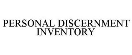 PERSONAL DISCERNMENT INVENTORY