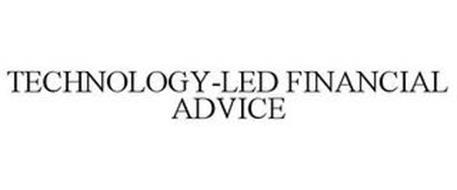 TECHNOLOGY-LED FINANCIAL ADVICE
