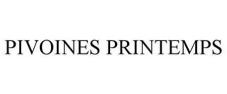 PIVOINES PRINTEMPS
