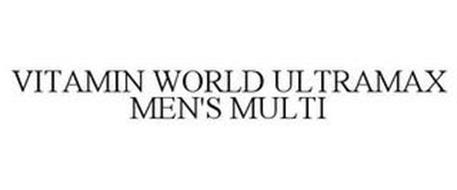 VITAMIN WORLD ULTRAMAX MEN'S MULTI