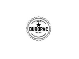 LES SPECIALISTES EN EMBALLAGE ALIMENTAIRE DUROPAC CIRCA 1993 THE FOOD PACKAGING EXPERTS