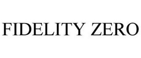 FIDELITY ZERO
