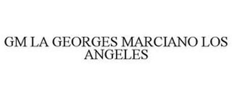 GM LA GEORGES MARCIANO LOS ANGELES