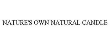 NATURE'S OWN NATURAL CANDLE