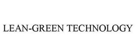 LEAN-GREEN TECHNOLOGY