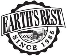 EARTH'S BEST SINCE 1985