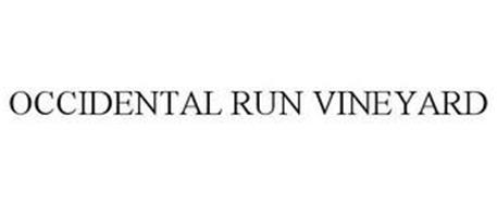 OCCIDENTAL RUN VINEYARD