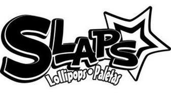 SLAPS LOLLIPOPS PALETAS