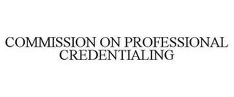 COMMISSION ON PROFESSIONAL CREDENTIALING