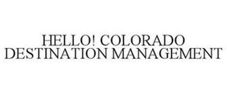 HELLO! COLORADO DESTINATION MANAGEMENT
