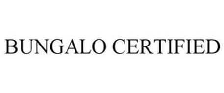 BUNGALO CERTIFIED