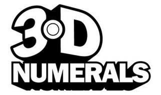 3D NUMERALS