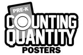 PRE-K COUNTING QUANTITY POSTERS