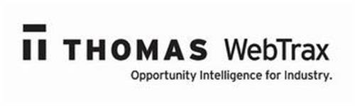 T THOMAS WEBTRAX OPPORTUNITY INTELLIGENCE FOR INDUSTRY.