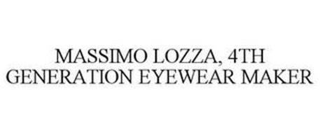 MASSIMO LOZZA, 4TH GENERATION EYEWEAR MAKER